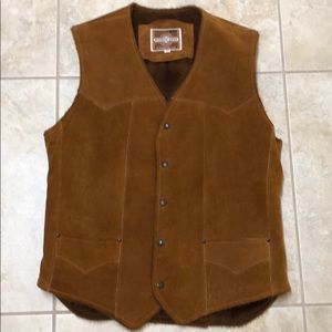 Pioneer wear $400 leather vest collectible 40